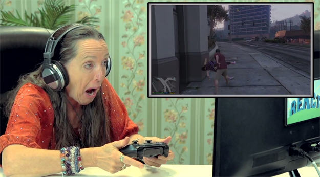 eldars gta v Old People Playing Grand Theft Auto V Is Hilarious