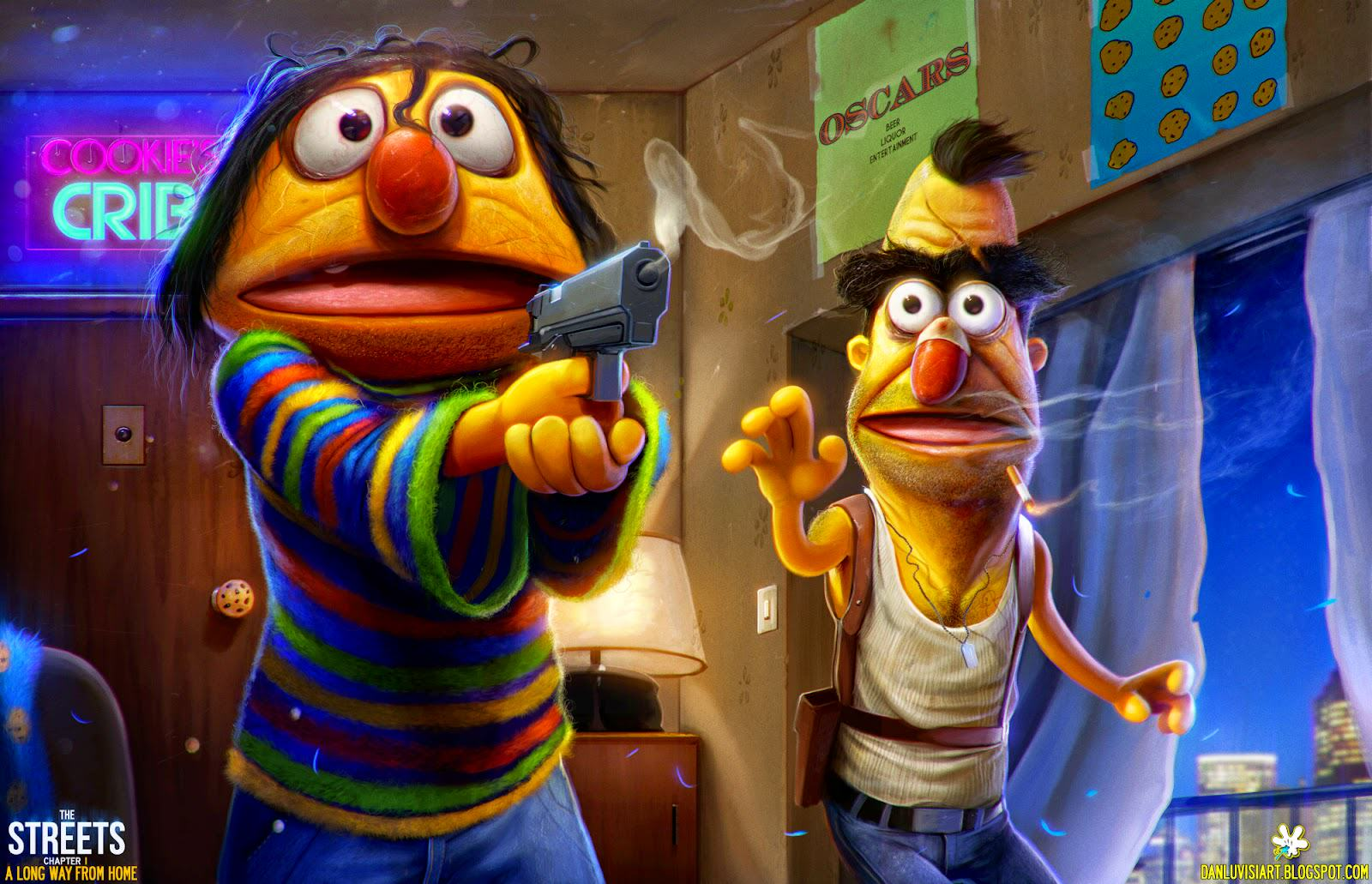 These Disturbing Pictures Will Sh*t All Over Your Childhood ernie