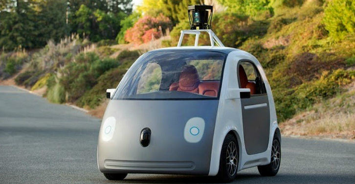 Futuristic Self Driving Mercedes Unveiled At CES 2015 google car thumb