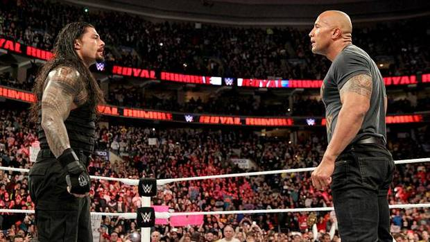 rock2 Watch The Rocks Dramatic Return At The 2015 Royal Rumble