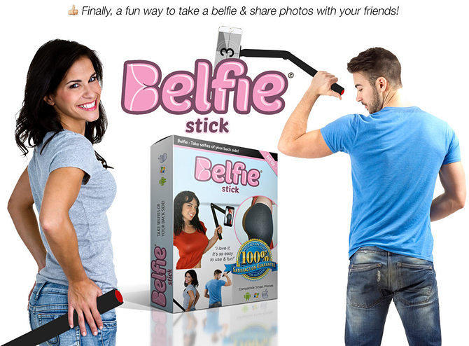 x1agzdejleitjjszvfcs The Belfie Stick Lets You Take Selfies Of Your Bum