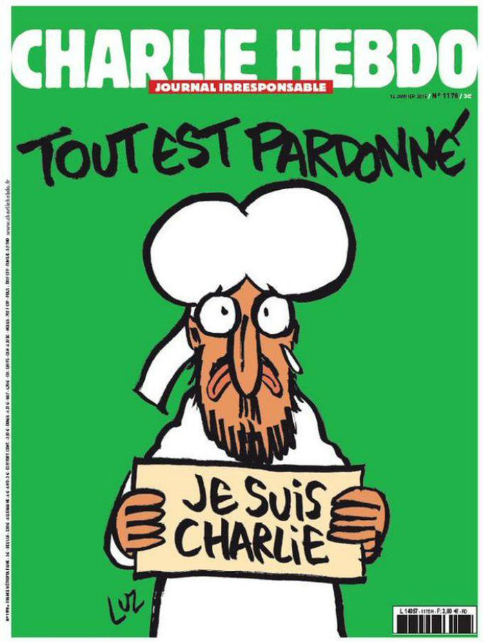 xuu3l3dubjh73fmxkjvj See The First Front Cover Of Charlie Hebdo Since Last Weeks Terror Attack