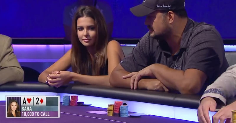 127 Miss Finland Beats Pro Poker Player With Incredible Bluff