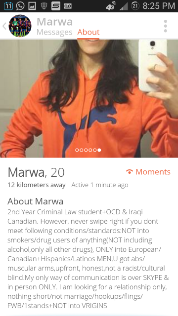 Law Student Goes CRAZY on Tinder 13