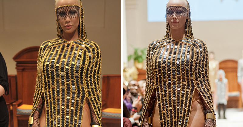 141 Amber Rose Goes Full Commando In Public Because Fashion