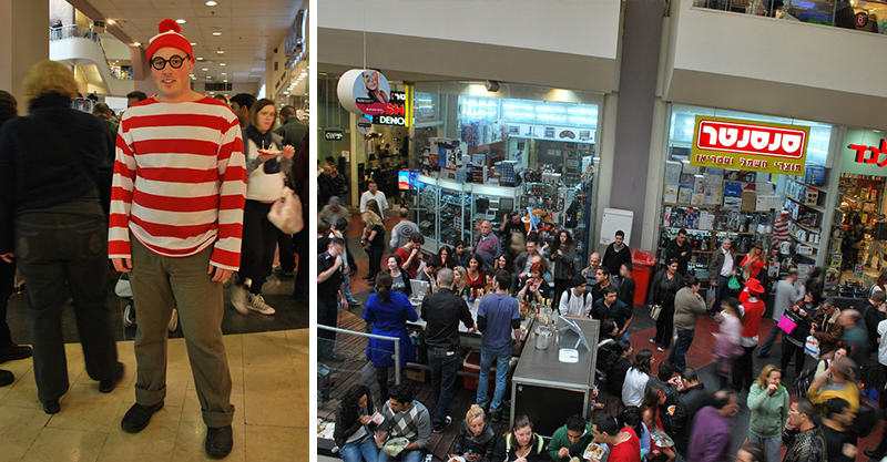 146 Lad Brilliantly Engages In Some Real Life Wheres Wally?