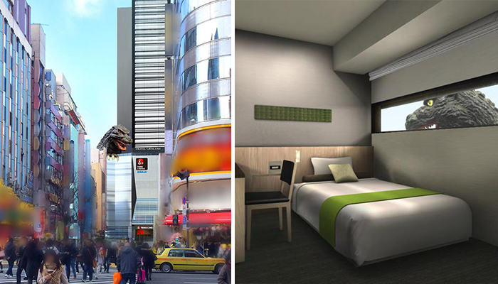 172 There Is A Godzilla Themed Hotel Opening In Japan