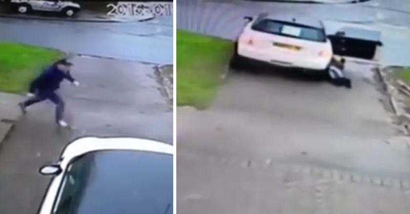 18 Birmingham Car Jacker Drags Woman Across Busy Road