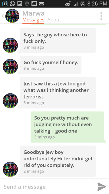 Law Student Goes CRAZY on Tinder 5