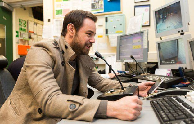 Mind The Gap You Mug! Danny Dyer Becomes Tube Announcer For A Day