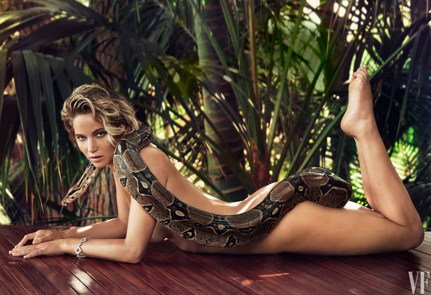 Jennifer Lawrence Snake Jennifer Lawrence Goes Nude Again, This Time With A Snake