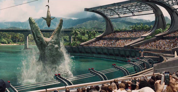 The New Jurassic World Trailer Is Out And It Looks Insane Jurassic World Mosasaur
