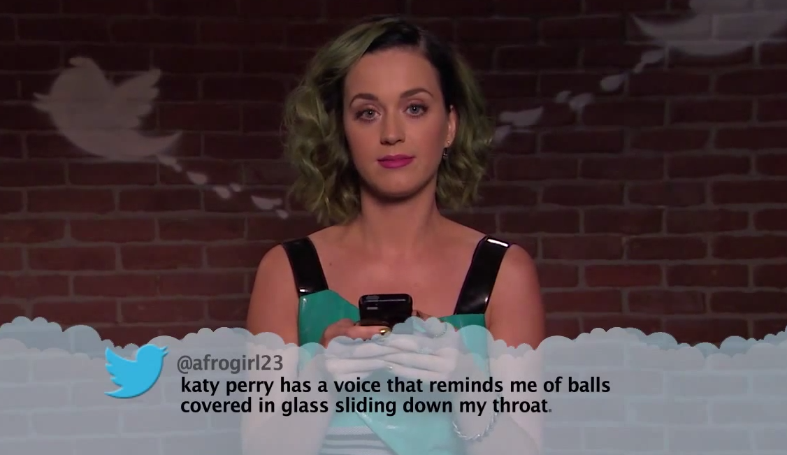 Screen Shot 2015 02 03 at 14.05.51 Drake, Sam Smith, Ed Sheeran And More Read Mean Tweets About Themselves