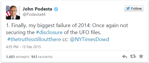 Untitled8 Top Obama Advisor Tweets About Revealing Contact With Aliens