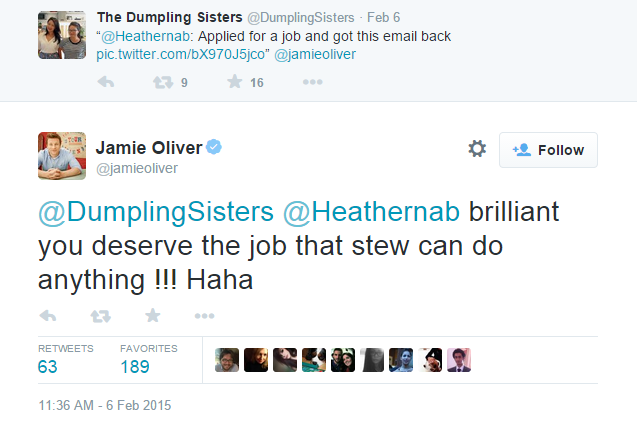 This Girl Applied For An Estate Agent Job... With A Chilli Con Carne Recipe jamie oliver