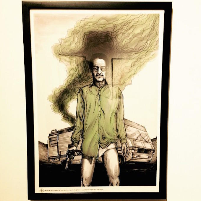 Artist Recreates Breaking Bad Characters In This Exhibition lmlwvtyfjvvsqwq0jdsj