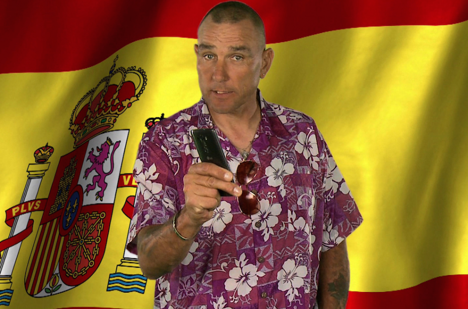 You Can Now Learn Spanish With Vinnie Jones vinnie