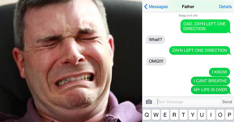 177 Dads React To Zayn Malik Leaving One Direction