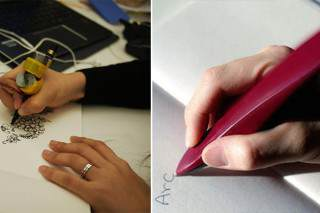 Geniuses Invent Pen That Helps Parkinson's Sufferers To Write