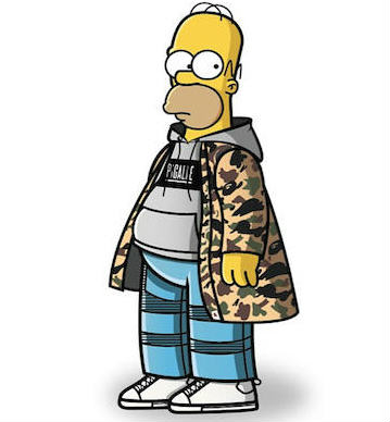 Characters From The Simpsons Get A Solid Streetwear Makeover 51