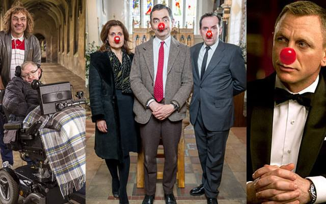 ComicReliefWeb 640x400 Little Britain, Mr Bean And James Bond Return For Comic Relief