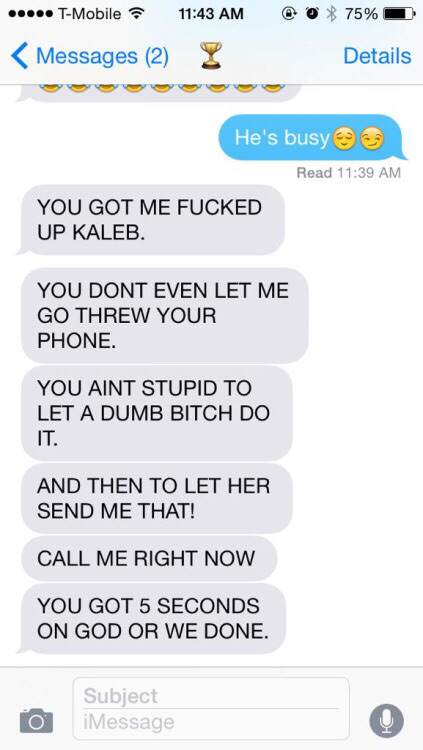 S63QlAS 1 Guy Tries One Text Prank On Girlfriend, Ends Very Badly