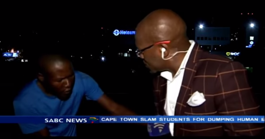 Reporter Mugged On Camera While Doing Live News Report Screen Shot 2015 03 11 at 11.46.38