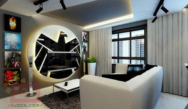 avg1 This Avengers Themed Apartment Is Seriously F*cking Cool