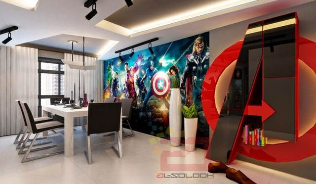 avg2 This Avengers Themed Apartment Is Seriously F*cking Cool