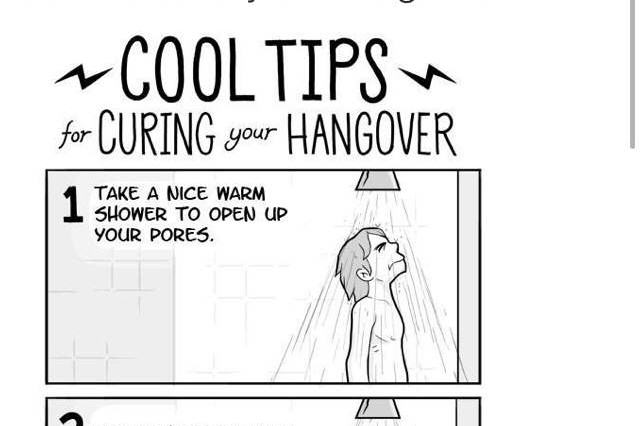 15 Best Hangover Cures As Judged By The Twitter Community hangover tips 640x426
