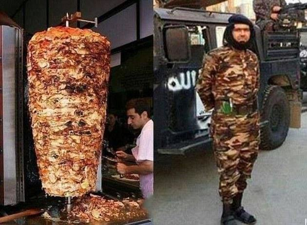 kebab ISIS Commander Receives Mass Abuse For Looking Like A Kebab