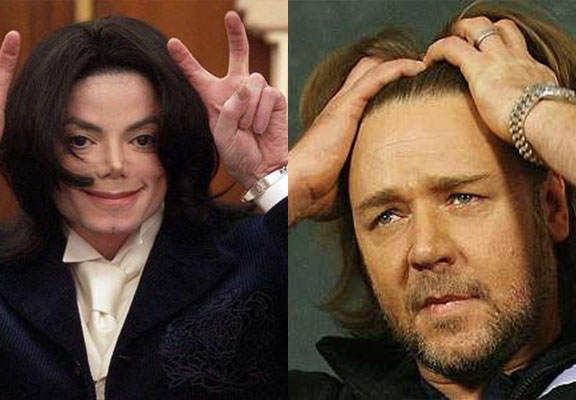 mJWEBTHUMBNEW Michael Jackson Used To Prank Call Russell Crowe, Although He Had Never Met Him