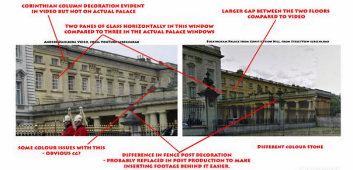 The Naked Man Escaping From Buckingham Palace Is A Hoax... Probably rieoig