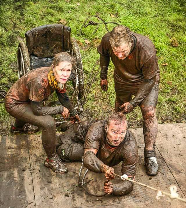 shaun Paralysed Man Completes Gruelling Born Survivor Obstacle Course