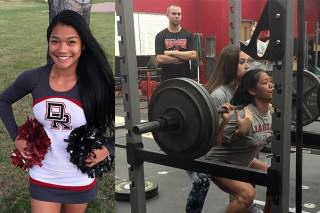 15 Year Old Girl Can Squat 300lbs, Obviously Goes Viral