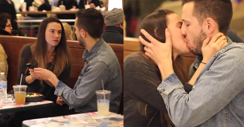 114 Girl Attempts To Kiss Random People After Asking For Directions