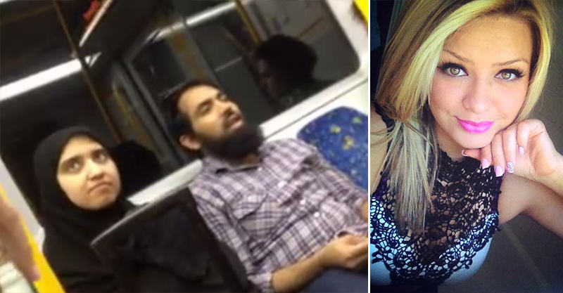 Girl Stands Up For Muslim Couple Being Racially Abused By Older Woman 161