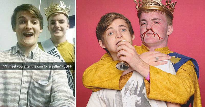 Lad That Looks Identical To King Joffrey Meets The Real Deal 166
