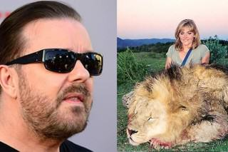 Ricky Gervais' Hate Campaign Against Hunters Is What We Need More Of
