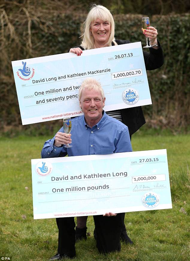 Jammiest Couple In World Win The EuroMillions For SECOND Time 273288E500000578 3021308 image m 44 1427893771932
