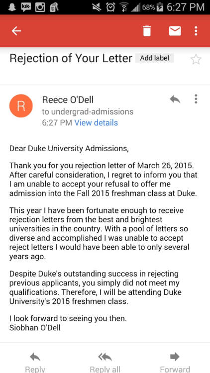 551c1caad8dd2 Student Gets Rejection Letter From College, So Rejects The Rejection Letter
