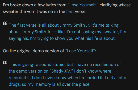 Screen Shot 2015 04 03 at 14.38.49 Eminem Annotated A Bunch Of His Songs On Rap Genius