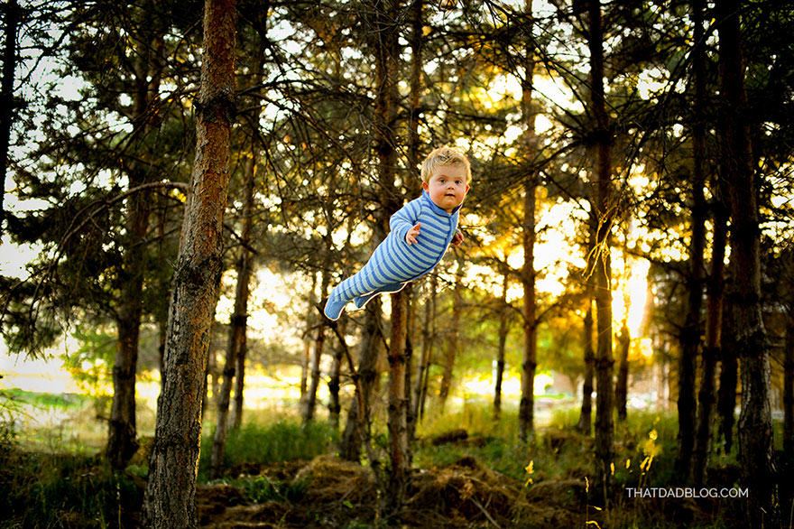 blog3 Photographer Dad Makes Son With Down Syndrome Fly In Awesome Photo Set