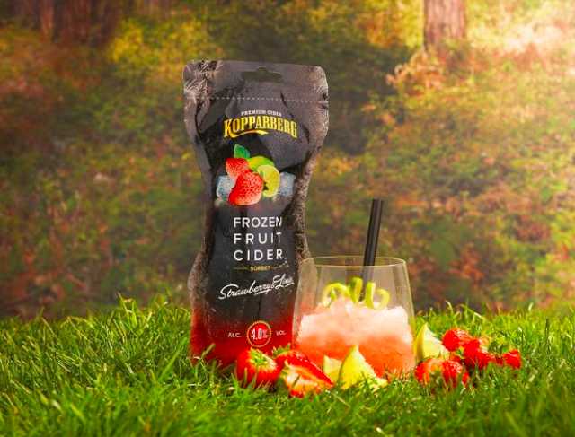 cider Kopparberg Make Frozen Fruit Cider An Actual Thing, Set To Hit Stores In May