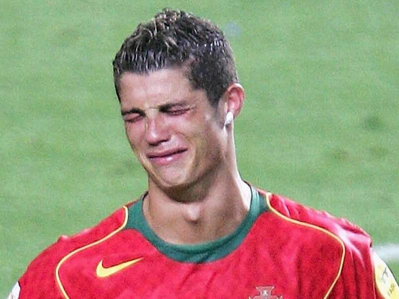 cristiano ronaldo crying The UK Has The LEAST Bank Holidays In The World