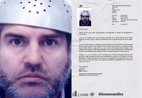 dvlaWEBTHUMBNEW Dad Challenges DVLA Over Religious Headgear In Driving Licence Photo