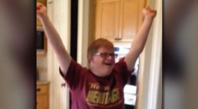 firstjob Kid With Down Syndrome Gets His First Job, Reaction Will Make Your Day