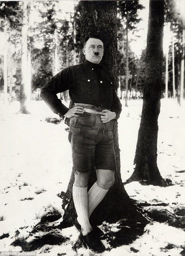 hitler These Modelling Shots Of Adolf Hitler Are Downright Bizarre