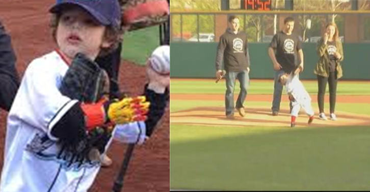jack fb1 Kid Gets Iron Man Like Prosthetic Hand, Throws First Baseball Pitch With It