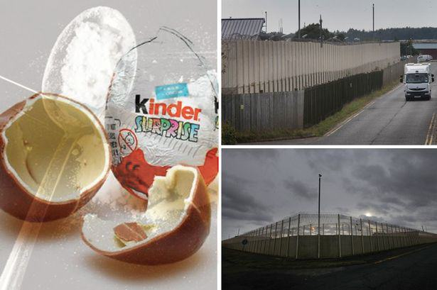 kinder Prisoners At One Jail Find Ingenious Way To Smuggle Drugs In Using Kinder Eggs